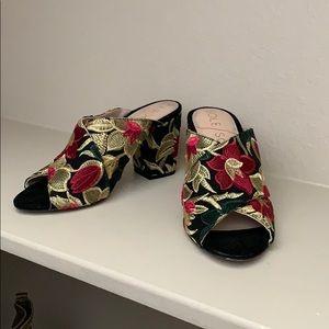 Sole society block heel shoes